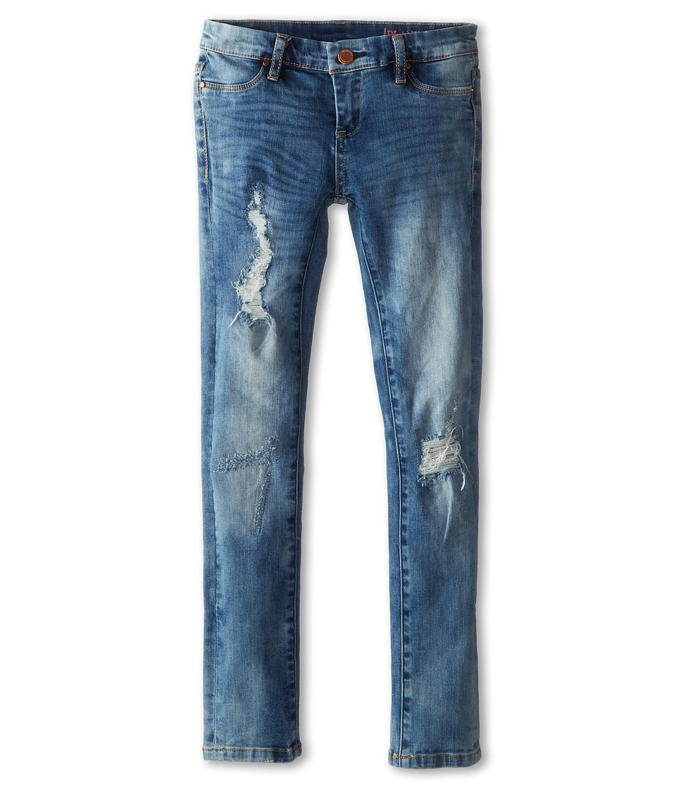 Blank NYC Kids - Denim Ripped Skinny Jeans in Good Vibes Patch