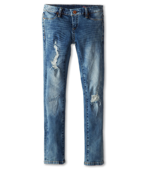 FIT: SLIM TAPERED LEG Stretch denim for increased wearability Destroyed details and ripped knee Whiskering & Fading Paint-splatter details Five pocket YKK zip fly styling Skinny .