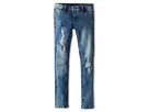 Blank NYC Kids - Denim Ripped Skinny Jeans in Good Vibes Patch (Big Kids)