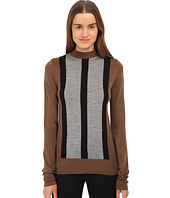 Vera Wang - Merino Wool Mock Turtle Neck
