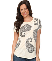 Lucky Brand - Exploded Paisley Tee