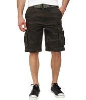 UNIONBAY - Survivor Camo Cargo Belted Short