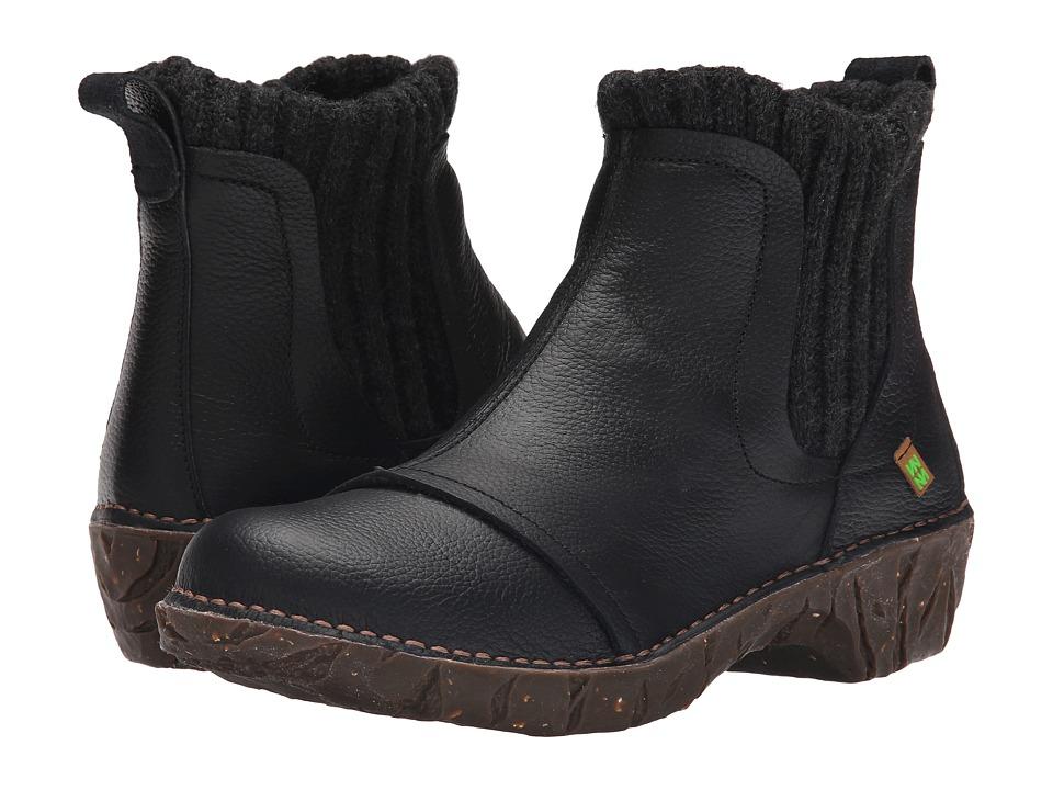 El Naturalista Yggdrasil NE23 Black Womens Shoes