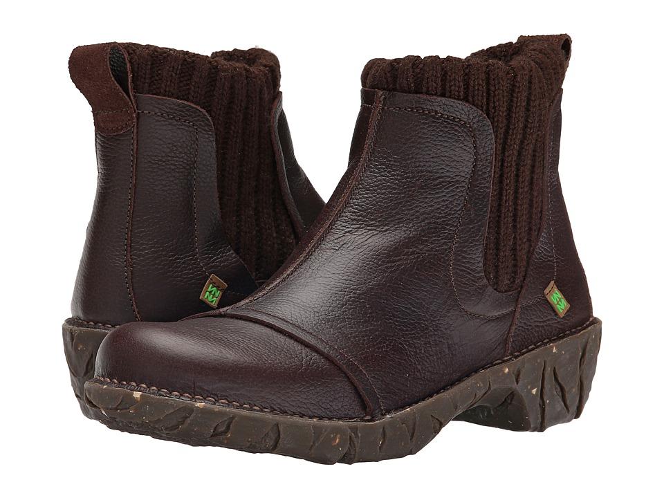 El Naturalista Yggdrasil NE23 Brown Womens Shoes