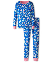 Hatley Kids - Icy Butterflies PJ Set (Toddler/Little Kids/Big Kids)