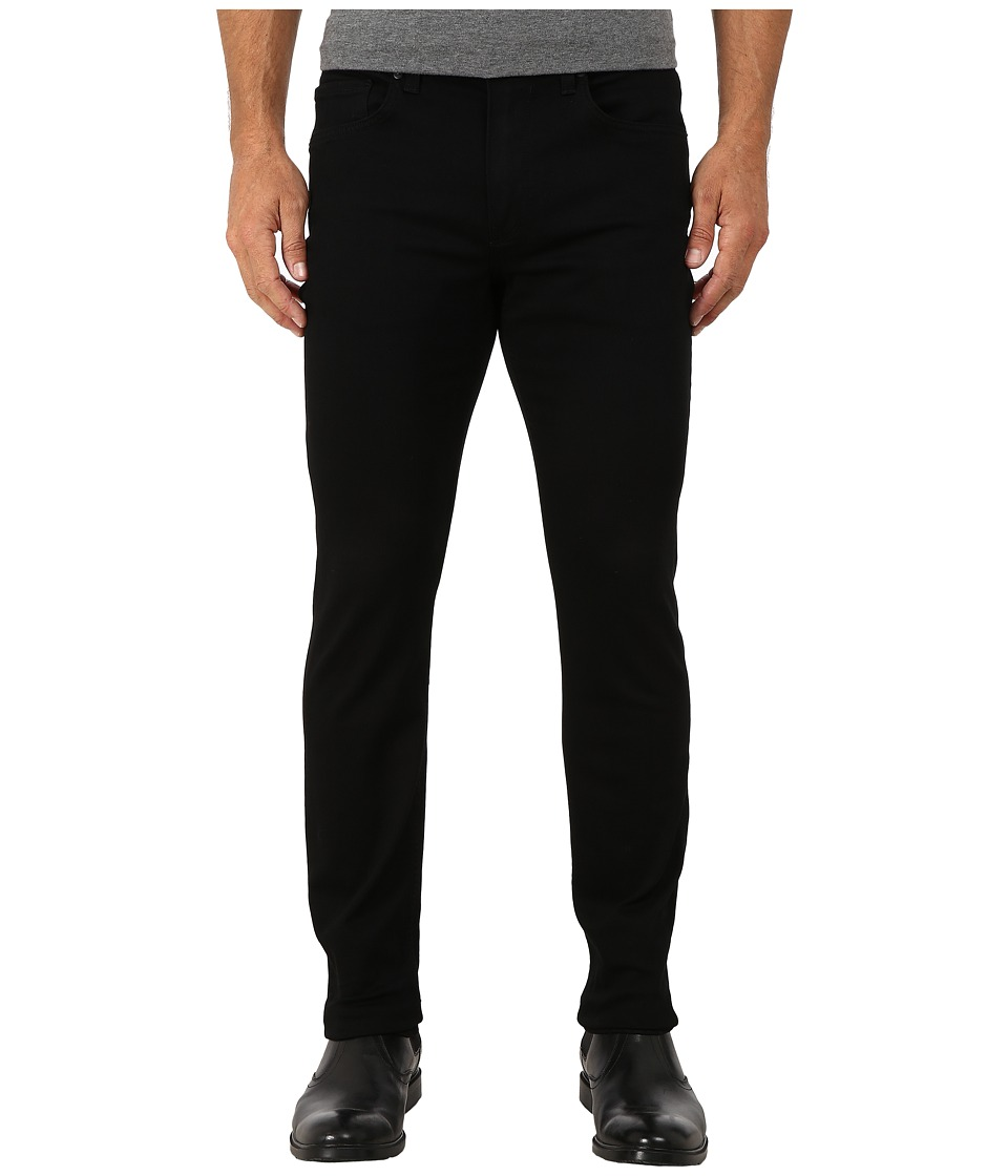 Paige - Lennox in Black Shadow (Black Shadow) Mens Jeans