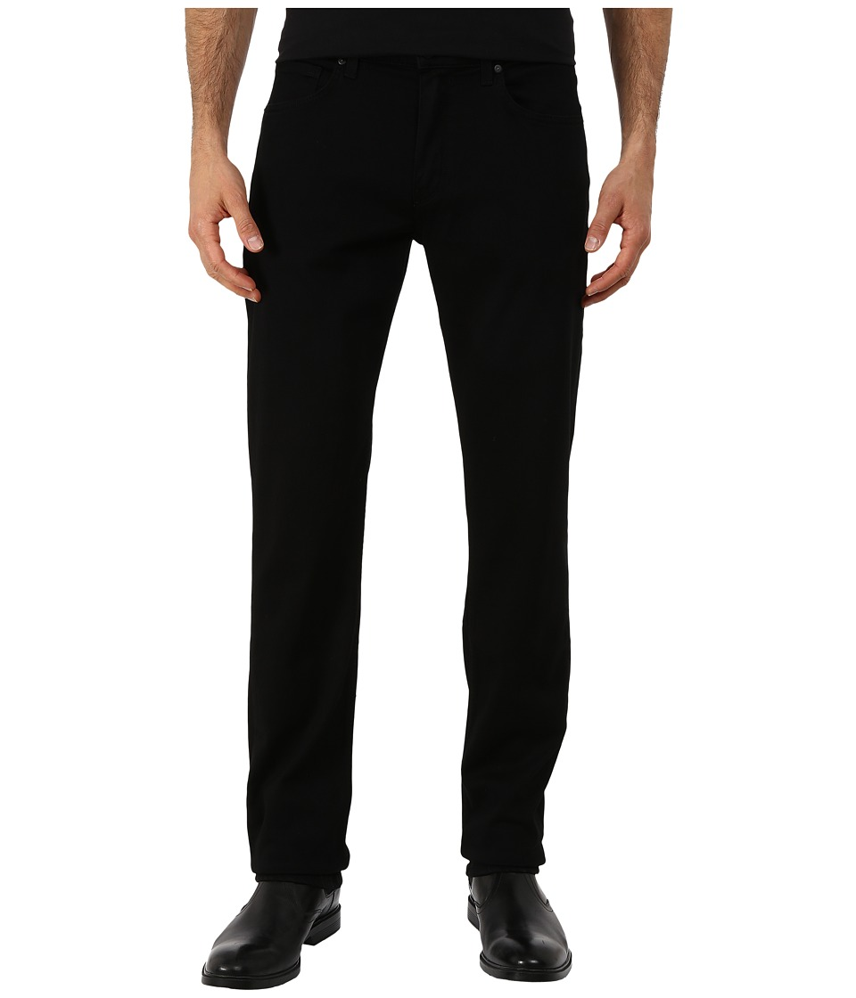 Paige - Normandie in Black Shadow (Black Shadow) Mens Jeans