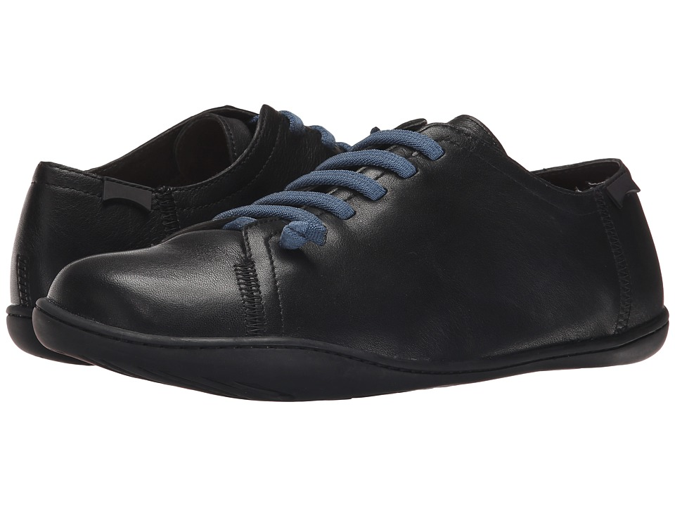 Camper - Peu Cami - Lo-17665 (Black Leather) Men's Lace up casual Shoes