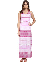 Mod-o-doc - Cotton Modal Jersey Double Scoop-Neck Maxi Dress