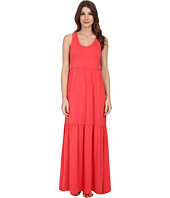 Mod-o-doc - Cotton Modal Spandex Jersey Tiered Maxi Tank Dress