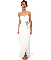 Adrianna Papell - Shirred Strapless Gown