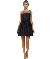 Adrianna Papell - Sleeveless Illusion Yoke Mikado Party Dress