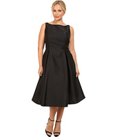Adrianna Papell - Plus Size Sleeveless Tea Length Dress