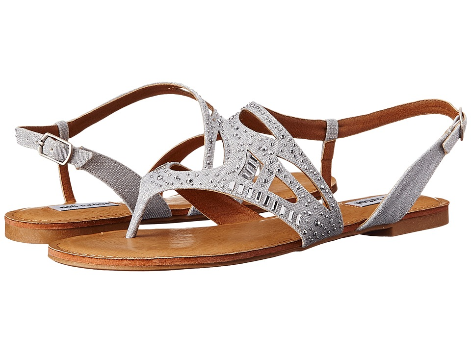Not Rated Brentwood Silver Womens Sandals