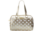 Betsey Johnson Hocus Polkas Satchel (Gold)