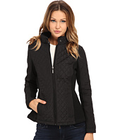 Weatherproof - Quilted Jacket w/ Side Knit Panels