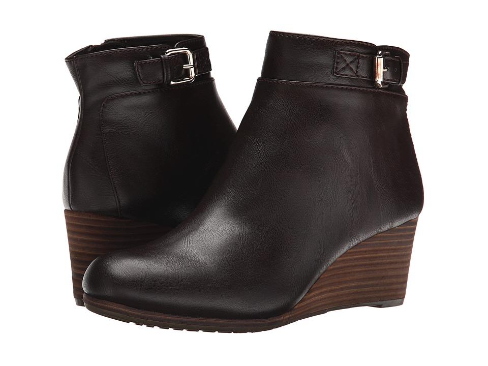 Dr. Scholls Daina Brown Womens Boots