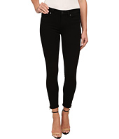 Paige - Verdugo Crop Zip in Black Shadow