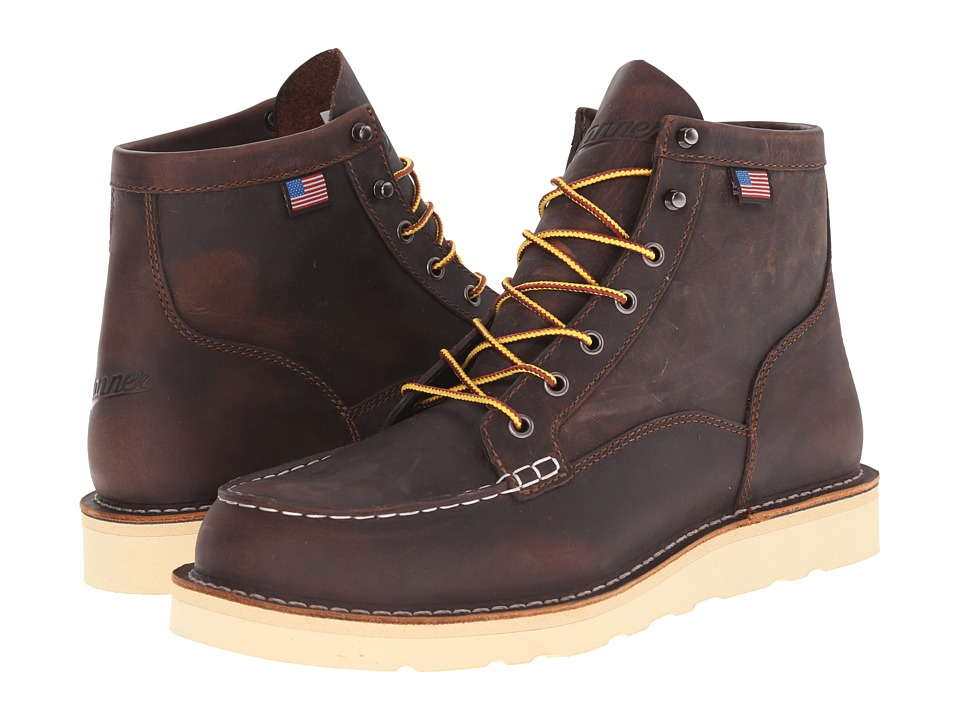 Danner Bull Run Moc Toe 6 (Brown) Men