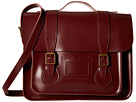 Dr. Martens 15 Leather Satchel (Cherry Red)