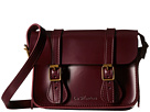 Dr. Martens 7 Leather Satchel (Cherry Red)