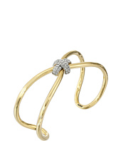 Giles & Brother - Skinny X Knot Pave Cuff Bracelet