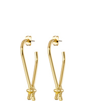 Giles & Brother - Long X Knot Earrings