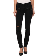 Paige - Indio Zip Utra Skinny in Joannie Destructed No Whiskers