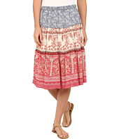Dylan by True Grit - Vista Canyon Mixed Chambray Print Field Skirt