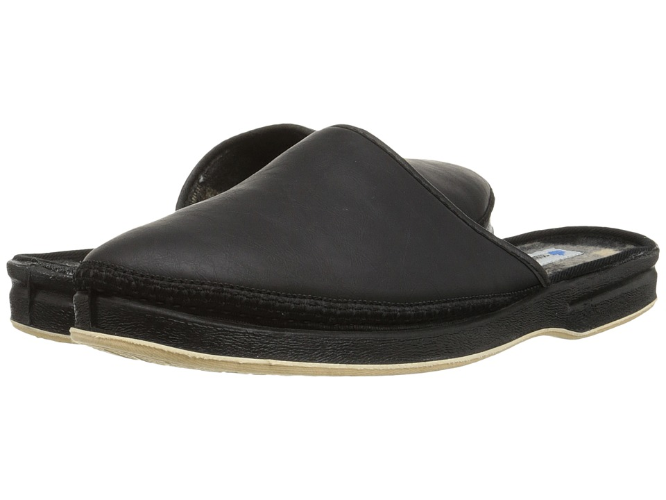 Foamtreads Henry Black Mens Slippers