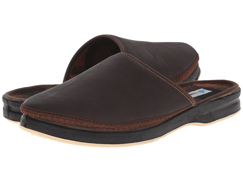 Foamtreads Henry Brown Mens Slippers