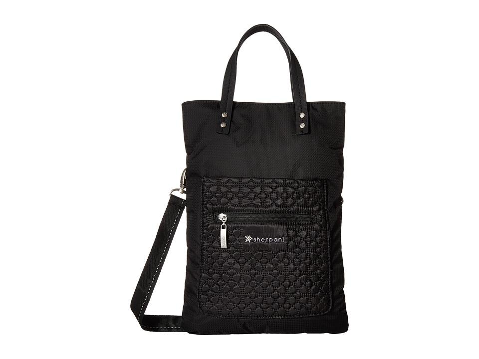 Sherpani Chloe LE Folded Shoulder Bag/Tote Bag Black 2 Shoulder Handbags