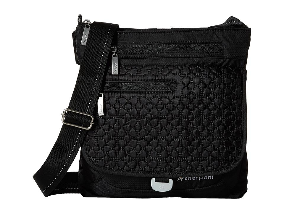 Sherpani - Jag LE (Black) Cross Body Handbags