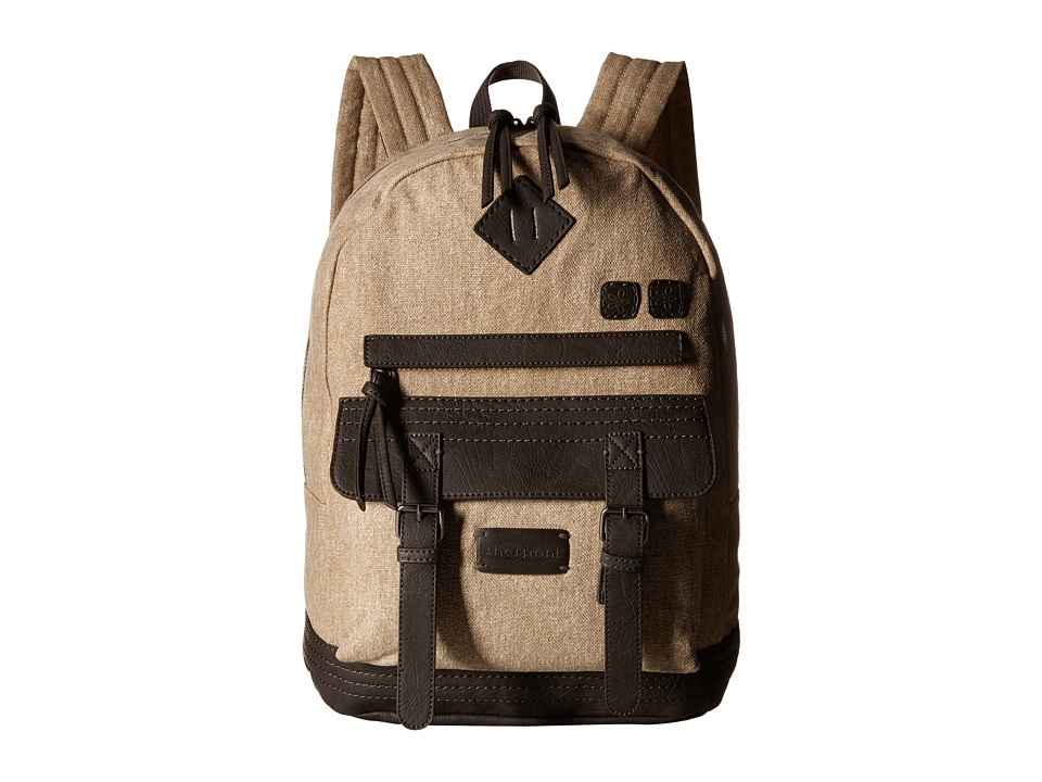 Sherpani Indie Backpack French Roast/Canvas Backpack Bags