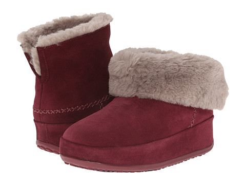 FitFlop Mukluk Shorty - Hot Cherry