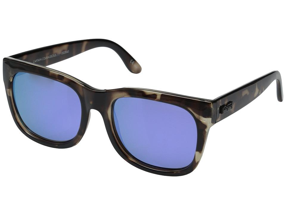 Le Specs Captain Courageous Coal Tortoise Fashion Sunglasses