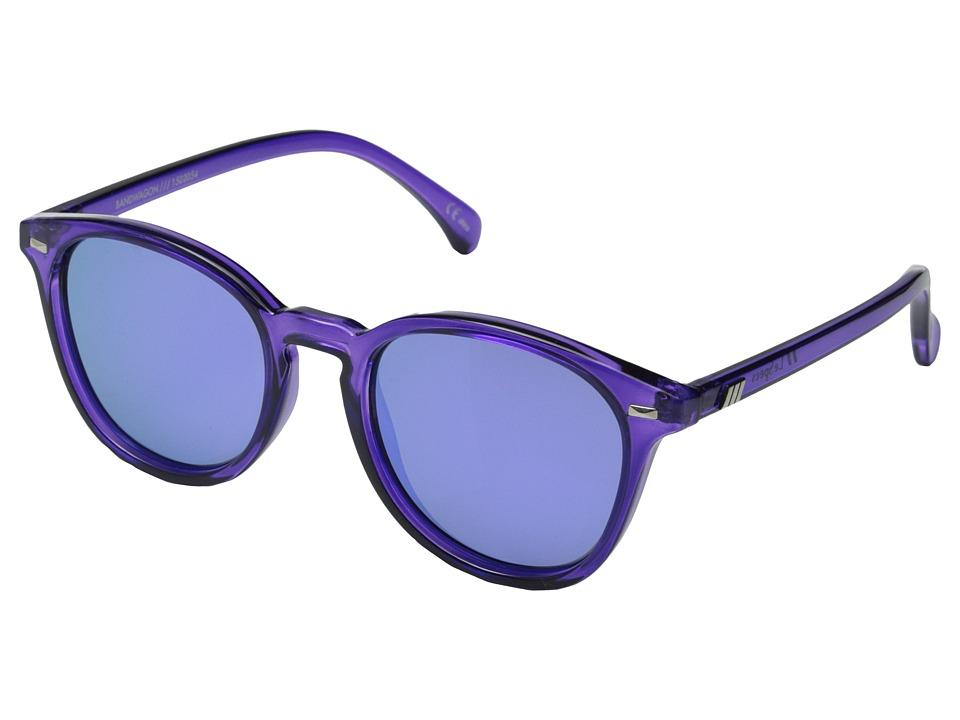 Le Specs Bandwagon Ultraviolet Fashion Sunglasses