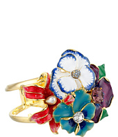 Kenneth Jay Lane - Multi Flower & Bug Cuff