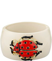 Kenneth Jay Lane - Resin Ladybug Cuff
