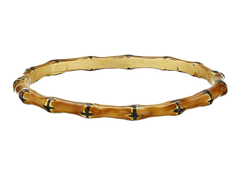 Kenneth Jay Lane Bamboo Bracelet - Brown