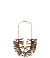 Kenneth Jay Lane - Spikes and Gold Chain Necklace