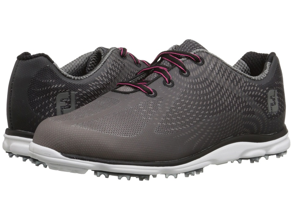 FootJoy - Empower Spikeless (Black/Charcoal) Womens Golf Shoes