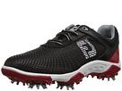 FootJoy Golf (Little Kid/Big Kid) (Black/Red)