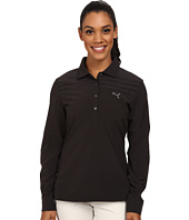 PUMA Golf - Sport Woven Long Sleeve Polo