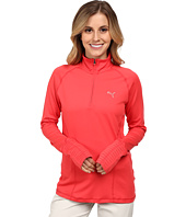 PUMA Golf - Solid Quarter Zip Popover Polo