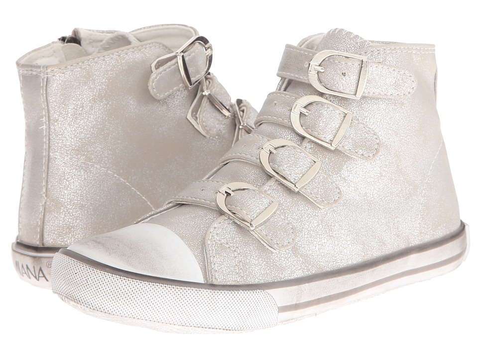 Amiana 15-A5172 (Toddler/Little Kid/Big Kid/Adult) (Silver) Girls Shoes