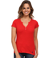U.S. POLO ASSN. - Split Placket T-Shirt
