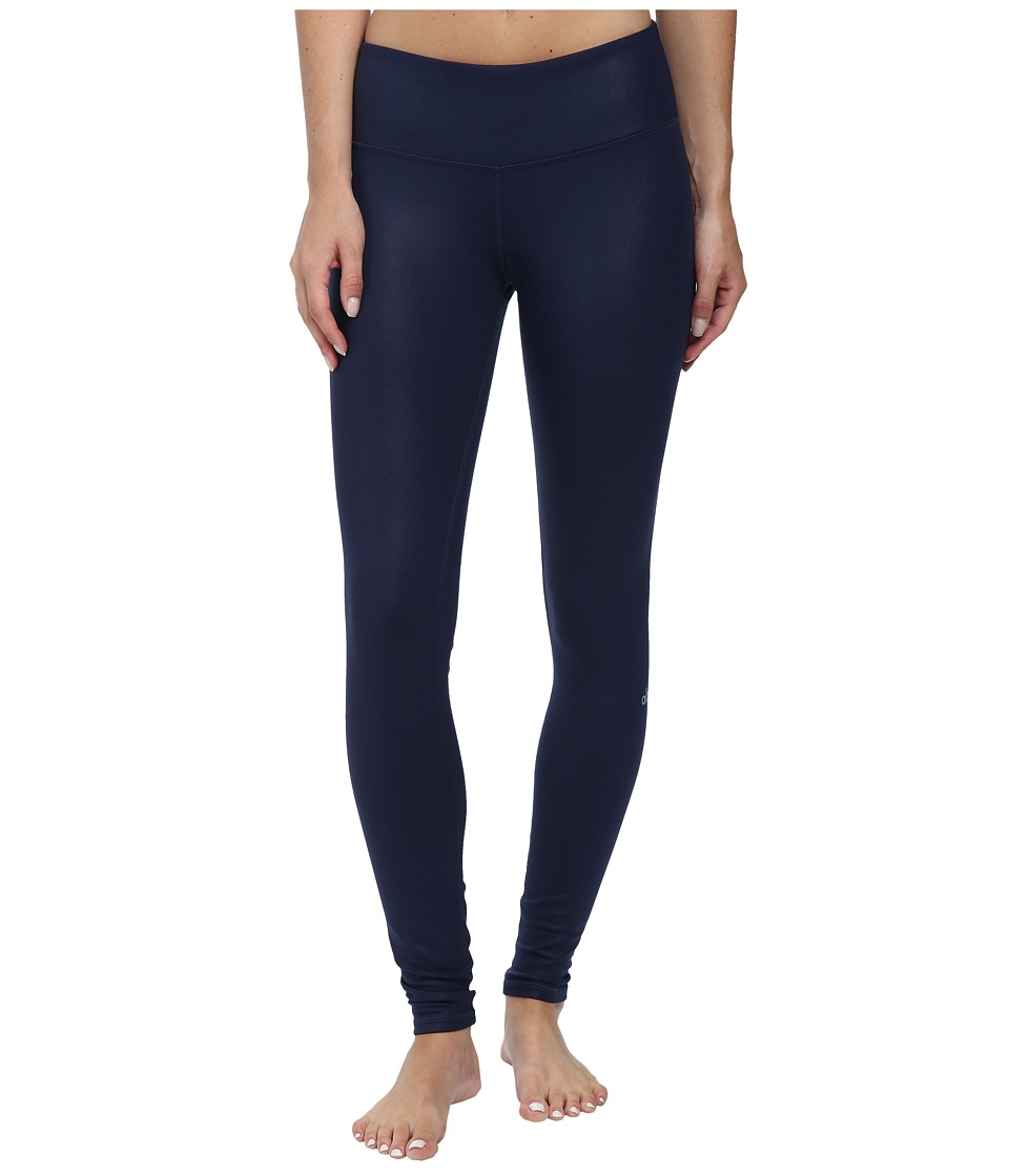 ALO Airbrushed Legging Rich Navy Glossy Womens Workout