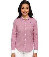 U.S. POLO ASSN. - Check Long Sleeve Woven Shirt
