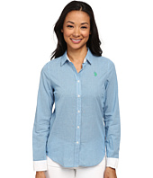 U.S. POLO ASSN. - Check Long Sleeve Woven Shirt